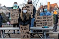 "<p>Over the weekend, protesters gathered across the U.S. to condemn violence against Asian Americans and Pacific Islanders after a shooting in Atlanta left eight people, six of them women of Asian descent, dead.The killings followed a year of surges in anti-Asian American violence that many see as related to the coronavirus pandemic. According to <a href=""https://www.pewresearch.org/social-trends/2020/07/01/many-black-and-asian-americans-say-they-have-experienced-discrimination-amid-the-covid-19-outbreak/"" rel=""nofollow noopener"" target=""_blank"" data-ylk=""slk:Pew Research Center"" class=""link rapid-noclick-resp""><u>Pew Research Center</u></a>, 30 percent of Asian adults say they have been subject to racist, verbal abuse since the outbreak began. Meanwhile, new data from the non-profit, <a href=""https://secureservercdn.net/104.238.69.231/a1w.90d.myftpupload.com/wp-content/uploads/2021/03/210312-Stop-AAPI-Hate-National-Report-.pdf"" rel=""nofollow noopener"" target=""_blank"" data-ylk=""slk:Stop AAPI Hate"" class=""link rapid-noclick-resp""><u>Stop AAPI Hate</u></a>, reveals members of the AAPI community have been the targets of 3,800 ""hate incidents"" in the past year. Women make up nearly 70 percent of the reported instances.Sice Tuesday's horrific mass shooting, <a href=""https://www.reuters.com/article/us-crime-georgia-spas/atlanta-shooting-of-asian-women-was-racially-motivated-u-s-senator-says-idUSKBN2BD0LW"" rel=""nofollow noopener"" target=""_blank"" data-ylk=""slk:citizens and politicians have asked investigators to consider the shootings a hate crime"" class=""link rapid-noclick-resp""><u>citizens and politicians have asked investigators to consider the shootings a hate crime</u></a>, be it on the basis of sex or race. Georgia's new law considers both to be legitimate forms of hate crimes. Last week, Atlanta Mayor Keisha Lance Bottoms threw her support behind the growing demand, saying, ""The acknowledgment that this was a crime built upon hatred for a particular community matters and I think that it's important that prosecutors and police consider that in making those charges.""So far, the shooter Robert Long has been charged with eight counts of murder. According to reporting from the <a href=""https://apnews.com/article/race-and-ethnicity-shootings-georgia-ahmaud-arbery-coronavirus-pandemic-cd68207150500f76e248fdc899717cd5"" rel=""nofollow noopener"" target=""_blank"" data-ylk=""slk:Associated Press"" class=""link rapid-noclick-resp""><u>Associated Press</u></a>, it's up to the Cherokee and Fulton County District Attorneys to decide whether or not to pursue the ""hate crime enhancement."" Alternatively, the Department of Justice could decide to bring federal hate crime charges, but that <a href=""https://www.forbes.com/sites/joewalsh/2021/03/18/fbi-director-says-atlanta-shooting-does-not-appear-racially-motivated/?sh=a221e021a0de"" rel=""nofollow noopener"" target=""_blank"" data-ylk=""slk:doesn't seem likely to happen"" class=""link rapid-noclick-resp""><u>doesn't seem likely to happen</u></a>.For many of the protestors, the attacks felt deeply personal and recall the racism they have experienced at increased levels in the past year. Speaking to a crowd of gatherers in Manhattan, New York State Assemblymember Yuh-Line Niou said, ""The women who died, they looked just like me, they look like my mom, they look like my aunties. They look like us.""</p>"