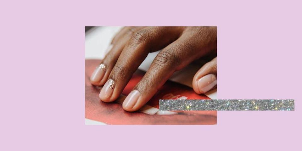 """<p>Nude nails, it's the vaguest of trends that covers a multitude of colours: beige, caramel, ballet-shoe pink, creamy peach, mushroom, mocha (we could go on). But what's a girl to do when muted starts to feel meh?</p><p>The clever thing about nude <a href=""""https://www.cosmopolitan.com/uk/beauty-hair/g994/best-nail-polish/"""" rel=""""nofollow noopener"""" target=""""_blank"""" data-ylk=""""slk:nail polish"""" class=""""link rapid-noclick-resp"""">nail polish</a> is that it flatters hands by giving the appearance of longer fingers (not that we have anything against short fingers, natch). It also makes a great neutral base for delicate <a href=""""https://www.cosmopolitan.com/uk/beauty-hair/nails/"""" rel=""""nofollow noopener"""" target=""""_blank"""" data-ylk=""""slk:nail art designs"""" class=""""link rapid-noclick-resp"""">nail art designs</a> (stunning example by <a href=""""https://www.instagram.com/thehangedit/"""" rel=""""nofollow noopener"""" target=""""_blank"""" data-ylk=""""slk:Hang Nguyen"""" class=""""link rapid-noclick-resp"""">Hang Nguyen</a> below) and looks incredible alternated with a glittery accent on long <a href=""""https://www.cosmopolitan.com/uk/beauty-hair/nails/a27029301/acrylic-nails/"""" rel=""""nofollow noopener"""" target=""""_blank"""" data-ylk=""""slk:acrylic nails"""" class=""""link rapid-noclick-resp"""">acrylic nails</a>. </p><p>Nude nails are super easy to ramp up too with rainbow accents or pretty pastel designs which are so perfect for showing off in summer. Trust us when we say that negative space nail art isn't going anywhere, so if you haven't got involved yet, there truly is no better time than when the neon polishes are out.</p><p>Prefer a no-fuss, high-shine vibe? Just want to create the healthy appearance your natural nails have after 2 weeks on the beach? We got you.</p><p>Try some gel nude nails on coffin-shaped acrylics for added drama. <a href=""""https://www.instagram.com/luxebytracylee/"""" rel=""""nofollow noopener"""" target=""""_blank"""" data-ylk=""""slk:Tracy Lee"""" class=""""link rapid-noclick-resp"""">Tracy Lee</a> demonstrates how good a matte finish """