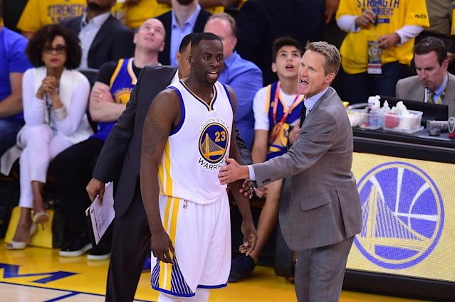 The Golden State Warriors' head coach has apparently had enough of his star power forward.