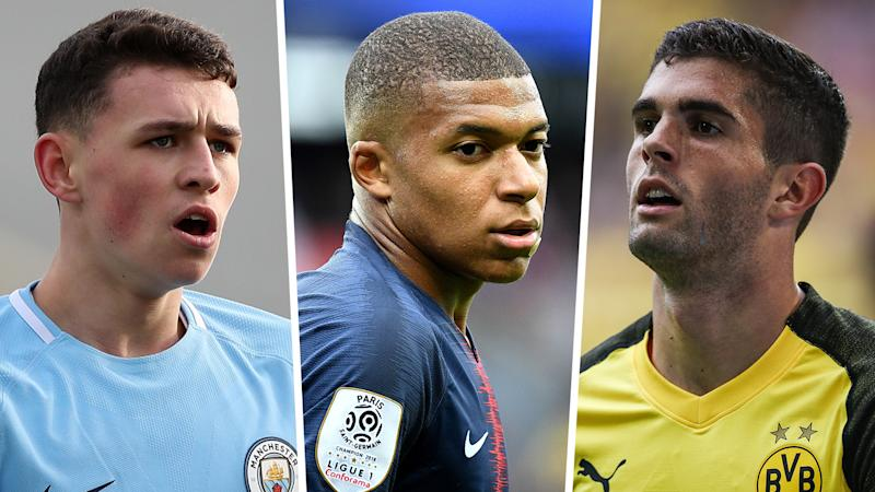 Weah, Pulisic & Foden join history-chasing Mbappe on Golden Boy shortlist