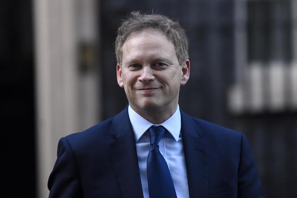 <p>Transport Secretary Grant Shapps announced that the restrictions would be relaxed from tomorrow</p> (Getty images)