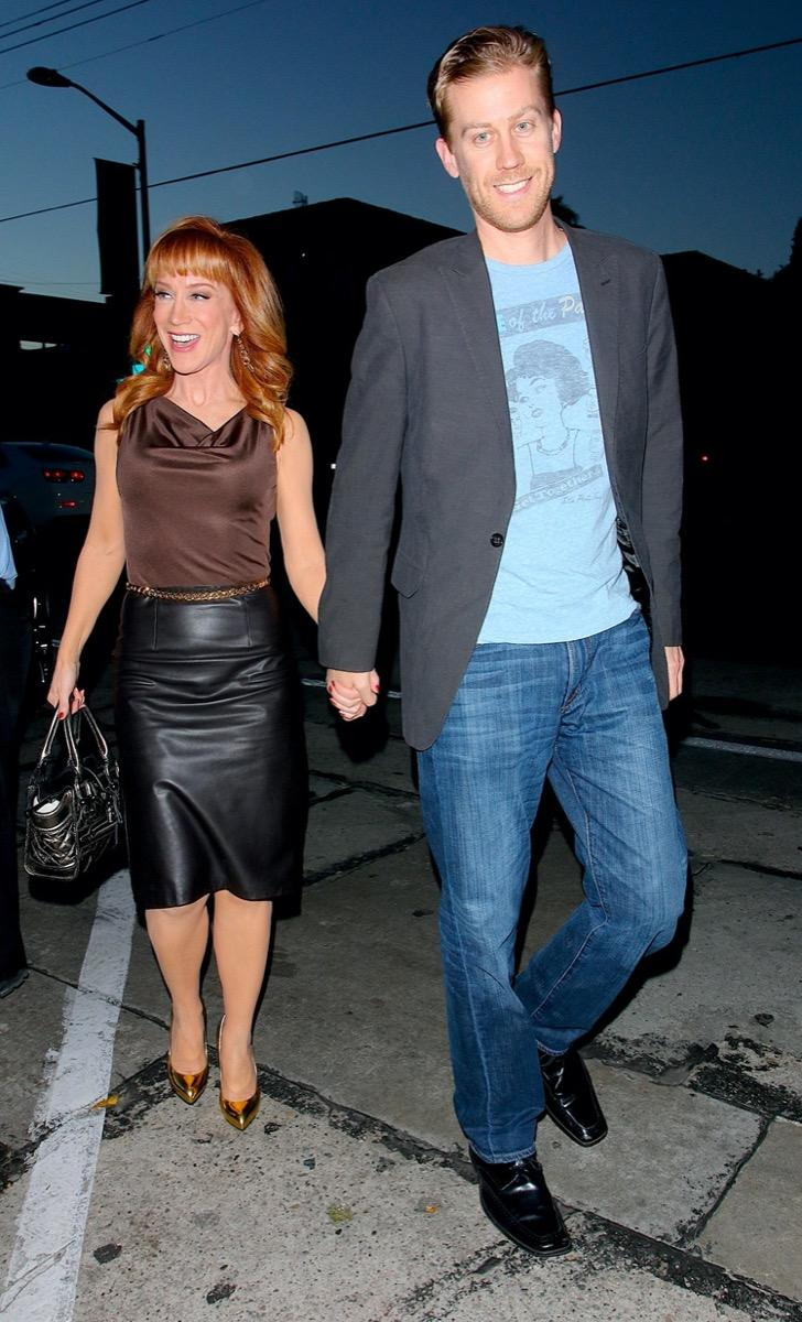 Kathy Griffin and Randy Bick in 2014