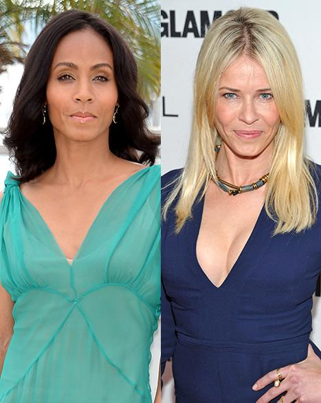 Jada Pinkett-Smith Addresses Will Smith Open Marriage Rumors; Chelsea Handler Gets Naked and Fights With Conan O'Brien in the Shower: Today's Top Stories