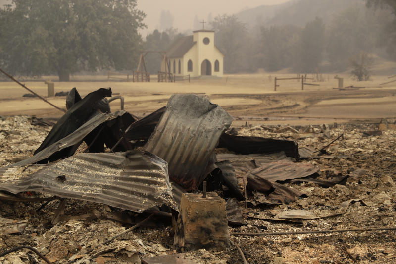 'Westworld' Western Town Set Burns Down in Woolsey Fire