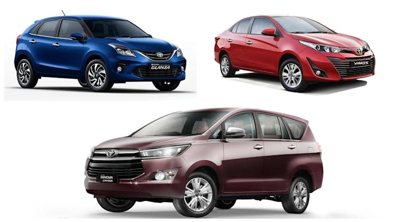Attractive discounts announced on these Toyota cars in October 2020