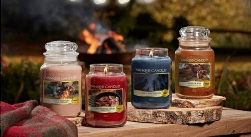 Yankee Candle launches new Autumn Collection inspired by campfires. (Yankee Candles)