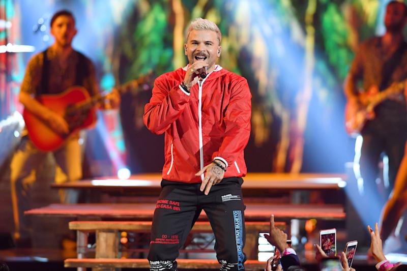 CORAL GABLES, FLORIDA - JULY 18: Pedro Capo performs on stage during Premios Juventud 2019 at Watsco Center on July 18, 2019 in Coral Gables, Florida. (Photo by Jason Koerner/Getty Images)