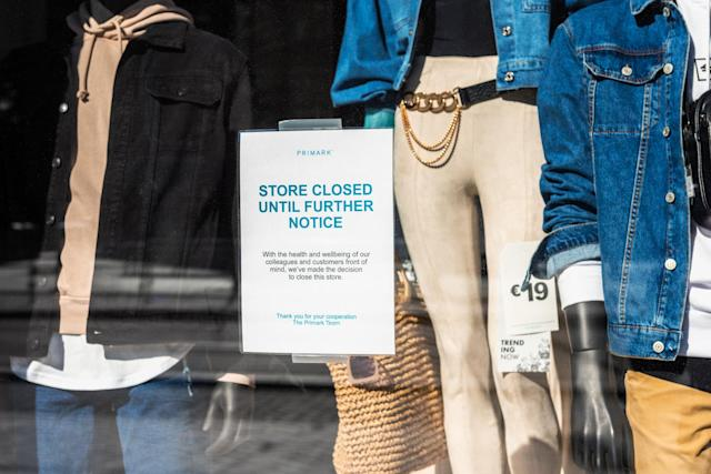 Non-essential shops have been closed for almost three months. (Getty Images)