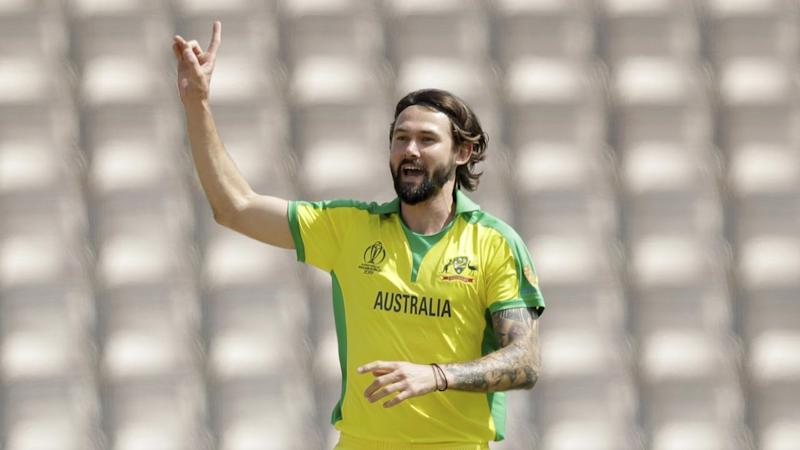 Kane Richardson has been called into the Australian side for the World Cup match against Pakistan