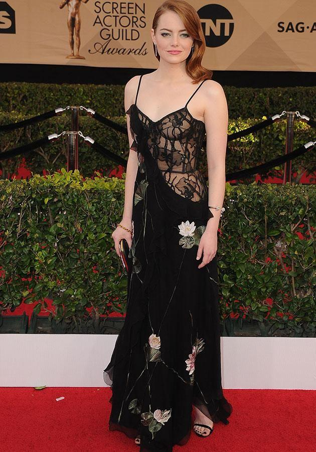 Emma Stone is likely to attend the awards but will she join the protest? Source: Getty