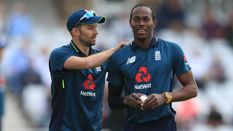 Jofra Archer and Mark Wood get the overs in during England intra-squad match