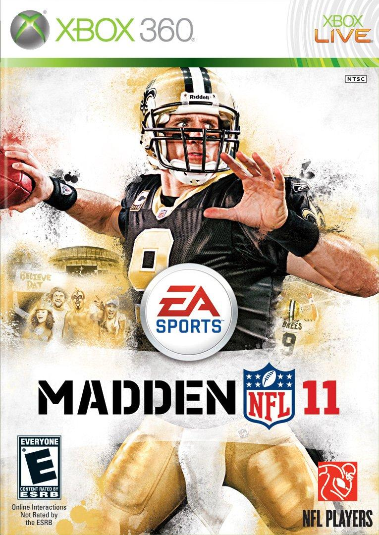 Madden 11 cover (via EA Sports/Microsoft)