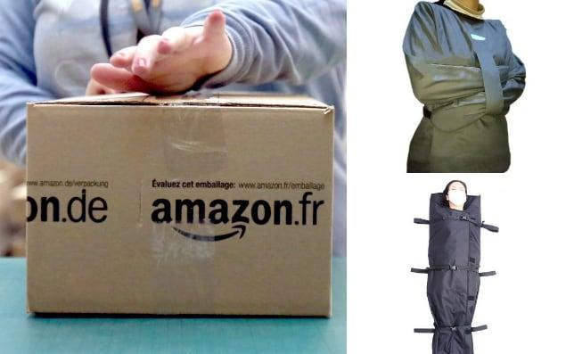 Amazon has been criticised for offering physical restraints for dementia sufferers