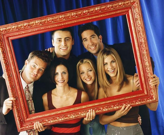 <em>Friends</em> ran for 10 seasons from 1994 to 2004 (Getty Images)