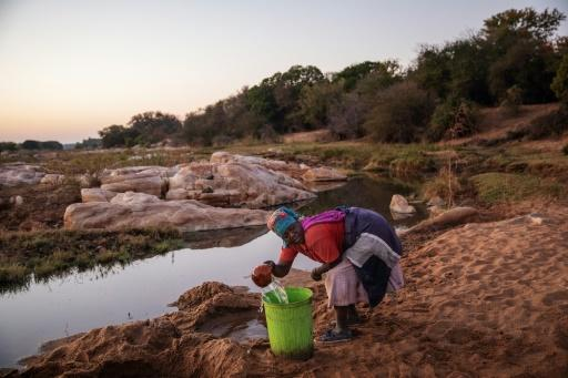 Baleni salt is harvested by hand from the banks of a remote river in northwestern South Africa