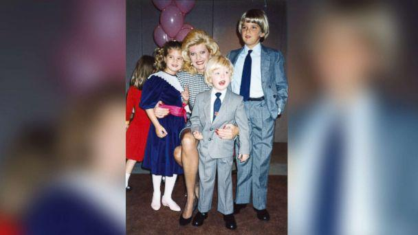 PHOTO: Ivana Trump poses with her children at a birthday party circa 1987. (Ivana Trump )