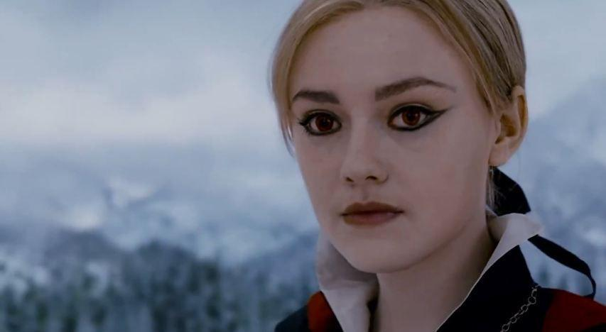 """<p>Jane's character can be counted on to bring the drama, whether that's via murder, torture, or any of her other hobbies. She's one of the few characters in the <em>Twilight</em> series who goes all out with her makeup looks. This negative-space cat eye can be achieved using the <a href=""""https://www.sephora.com/product/highliner-gel-crayon-P379434?skuId=1501311&icid2=products%20grid:p379434:product"""" rel=""""nofollow noopener"""" target=""""_blank"""" data-ylk=""""slk:Marc Jacobs Beauty Highliner Gel Eyeliner in Blacquer"""" class=""""link rapid-noclick-resp"""">Marc Jacobs Beauty Highliner Gel Eyeliner in Blacquer</a> ($26).</p>"""