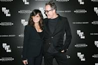 <p>Gina Gershon and Dean Winters arrive at a special screening for <i>No Time to Die</i>, hosted by Cinema Society and Champagne Bollinger, on Oct. 7 in N.Y.C. </p>