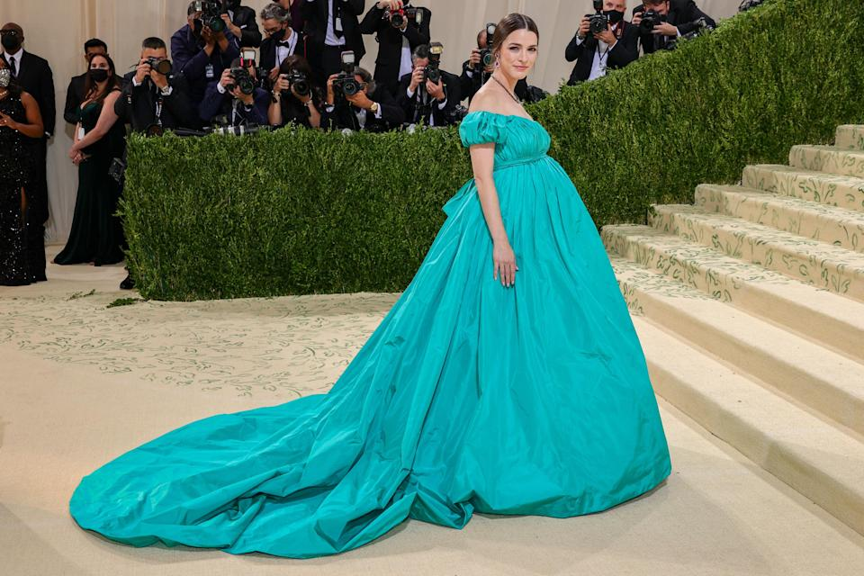 """<h1 class=""""title"""">Bee Carrozzini, The 2021 Met Gala Celebrating In America: A Lexicon Of Fashion - Arrivals</h1><cite class=""""credit"""">Getty</cite>"""