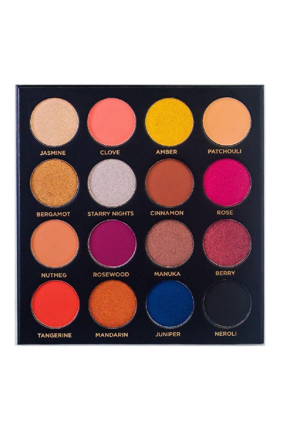 """<p>acebeaute.com</p><p><strong>$38.99</strong></p><p><a href=""""https://www.acebeaute.com/collections/eyeshadow/products/quintessential-eyeshadow-palette"""" rel=""""nofollow noopener"""" target=""""_blank"""" data-ylk=""""slk:Shop Now"""" class=""""link rapid-noclick-resp"""">Shop Now</a></p><p>If you catch yourself putting on the same two or three colors every time you get ready, it's time to shake up that <a href=""""https://www.cosmopolitan.com/style-beauty/beauty/g30187456/cute-makeup-bags/"""" rel=""""nofollow noopener"""" target=""""_blank"""" data-ylk=""""slk:makeup bag"""" class=""""link rapid-noclick-resp"""">makeup bag</a>. (I don't mean that literally. Don't break your precious pressed shadows, pls.) This <strong>array of coral, silver, hot pink, and royal blue colors in matte, satin, and metallic finishes</strong> will remind you how fun makeup can be—and that it's probs time to find a new signature look, just sayin'.<br></p>"""
