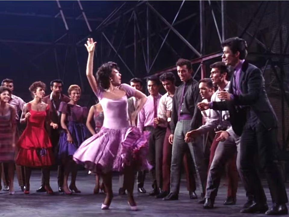 West Side Story 1961 best picture movie winner