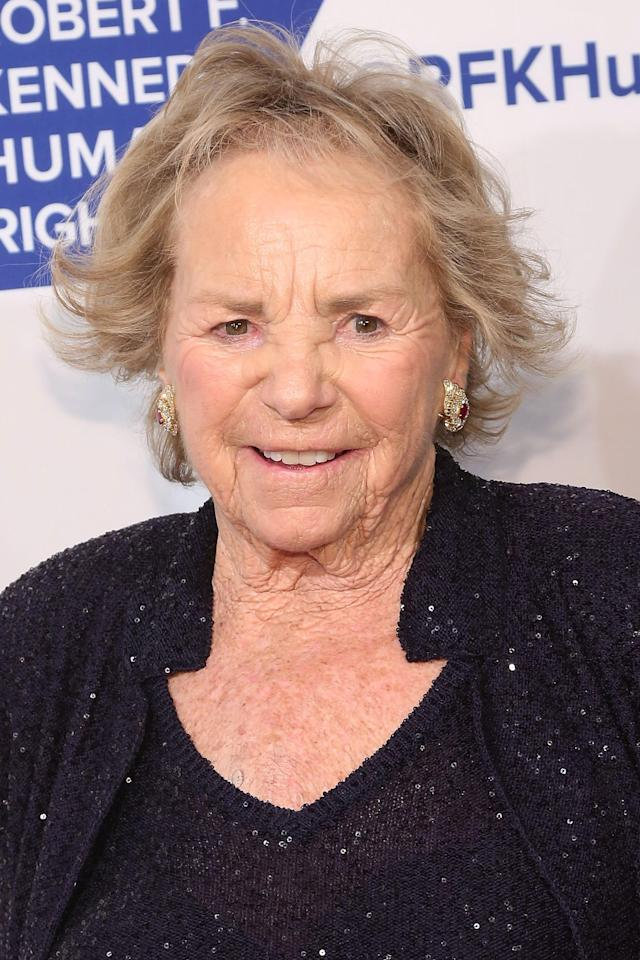 90-year-old Ethel Kennedy is joining a 24-day hunger strike to protest President Trump's zero-tolerance immigration policy. (Photo: Getty Images)