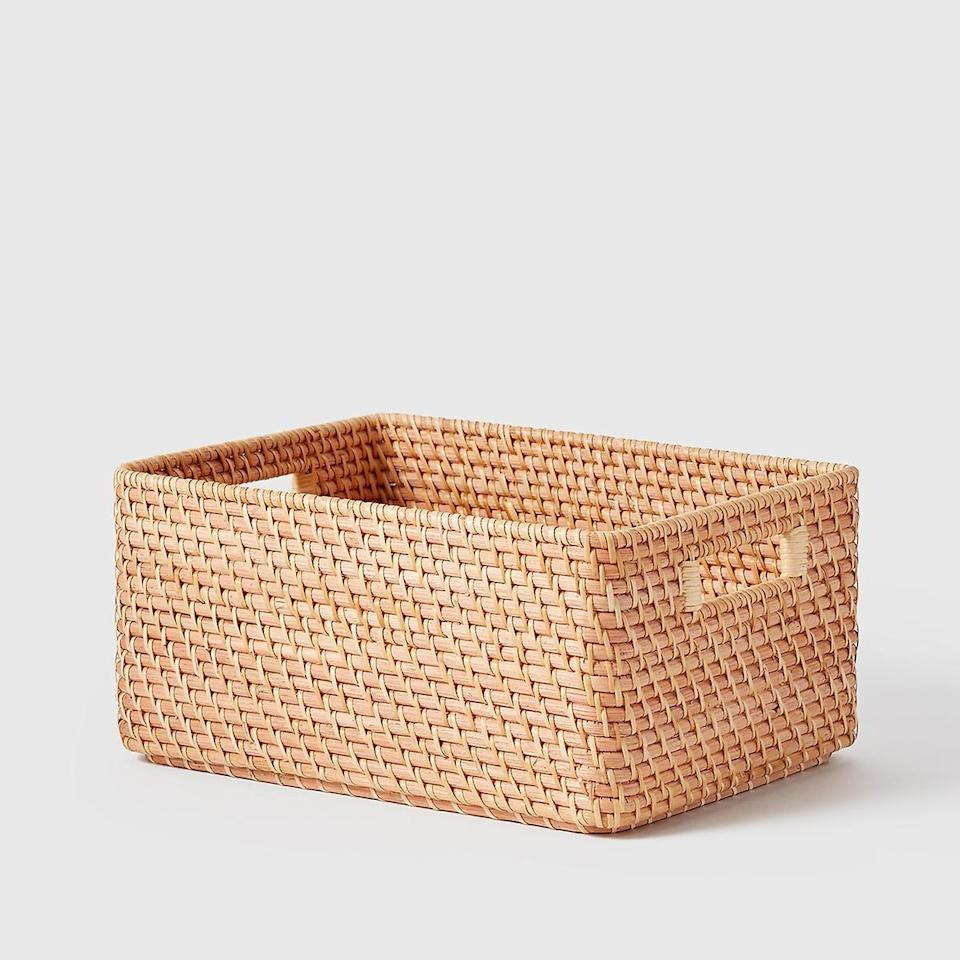 """<p><strong>the container store</strong></p><p>containerstore.com</p><p><strong>$34.99</strong></p><p><a href=""""https://go.redirectingat.com?id=74968X1596630&url=https%3A%2F%2Fwww.containerstore.com%2Fcategory%2FmarieKondoCollection%2FshopAll%3FproductId%3D11014281&sref=https%3A%2F%2Fwww.housebeautiful.com%2Fshopping%2Fhome-accessories%2Fg35192810%2Fmarie-kondos-container-store-products%2F"""" rel=""""nofollow noopener"""" target=""""_blank"""" data-ylk=""""slk:BUY NOW"""" class=""""link rapid-noclick-resp"""">BUY NOW</a></p>"""