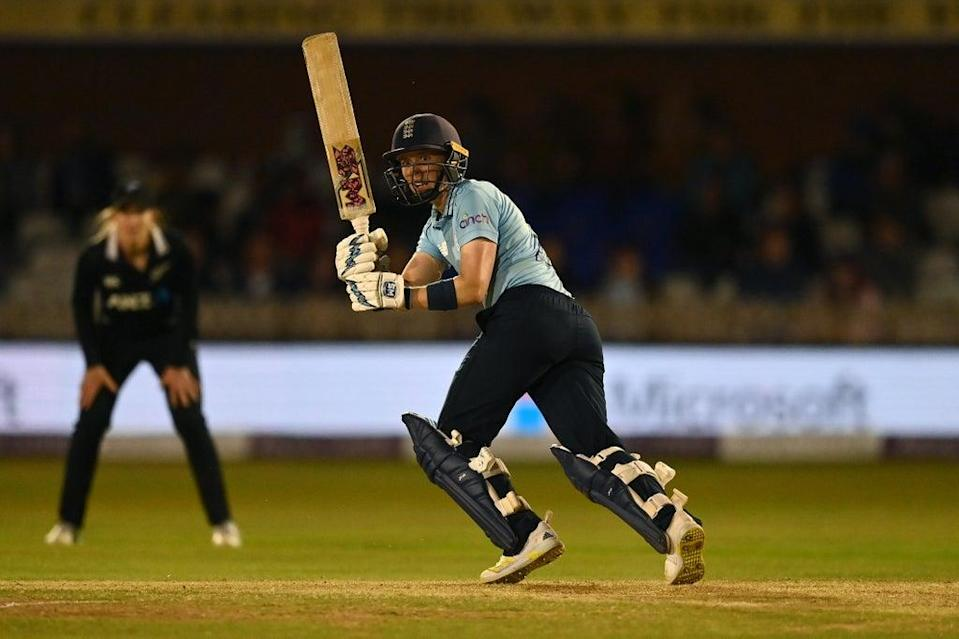 Heather Knight's century helped her side seal the ODI series against New Zealand  (Getty Images)
