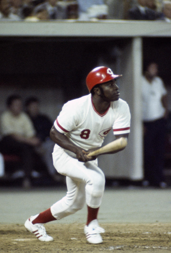 Nicknamed 'Little Joe,' Morgan played bigger than his stature. The second baseman was a key cog of Cincinnati's Big Red Machine, winning two World Series in his eight seasons with the Reds. By the time he was done playing, Morgan, who also played for the Astros, Phillies and A's, had carved out a Hall of Fame career and established himself as one of the best second basemen of all time. Morgan, who went on to have a long broadcasting career, was 77.