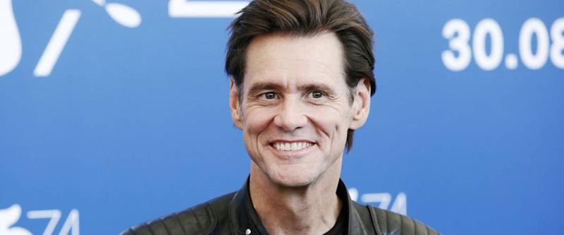 VENICE, ITALY - SEPTEMBER 05: Jim Carrey attends the photo-call of the movie 'Jim & Andy' during the 74th Venice Film Festival on September 5, 2017 in Venice, Italy.