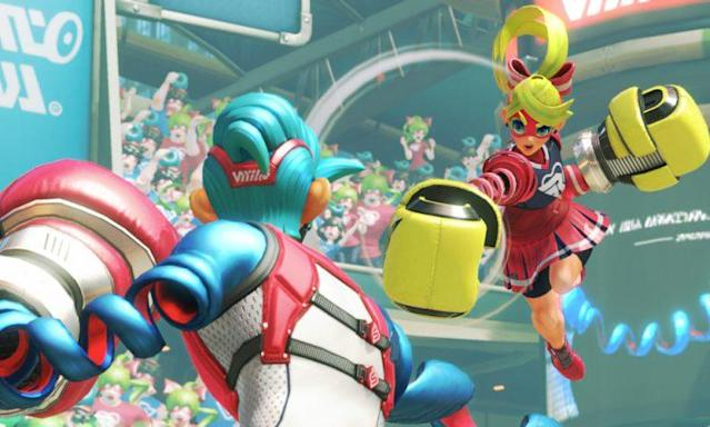 Nintendo's 'Arms' is a blast when facing off against friends.