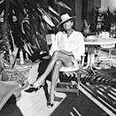 Photographer Helmut Newton captured by his wife, June, who died at the age of 97 last Friday.