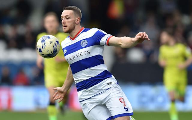 Conor Washington did not see eye to eye with former QPR manager Jimmy Floyd Hasselbaink - Rex Features