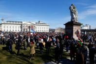 Protests following government's COVID-19 restrictions, in Kassel