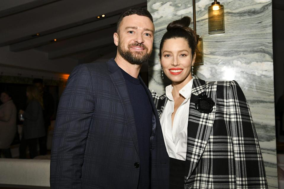 "<p>The two still haven't confirmed the news, but sources reported that <a href=""https://www.glamour.com/about/jessica-biel"" rel=""nofollow noopener"" target=""_blank"" data-ylk=""slk:Jessica Biel"" class=""link rapid-noclick-resp"">Jessica Biel</a> gave birth to a baby boy in mid-July after keeping her pregnancy ""top secret."" </p> <p><a href=""https://www.dailymail.co.uk/news/article-8537041/Jessica-Biel-Justin-Timberlake-welcome-second-child-secret-pregnancy.html"" rel=""nofollow noopener"" target=""_blank"" data-ylk=""slk:According to the Daily Mail"" class=""link rapid-noclick-resp"">According to the <em>Daily Mail</em></a>, Biel and Timberlake had been spending the coronavirus pandemic quarantining in Montana, far away from the paparazzi in L.A. Biel and Timberlake have been married since 2012 and have a son, Silas.</p>"