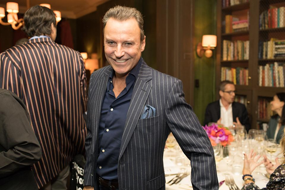 NEW YORK, NY - SEPTEMBER 18: (EXCLUSIVE COVERAGE) Colin Cowie attends the Plant Miami and Rudd Wines dinner at the James Beard House on September 18, 2019 in New York City. (Photo by Myrna M. Suarez/Getty Images)