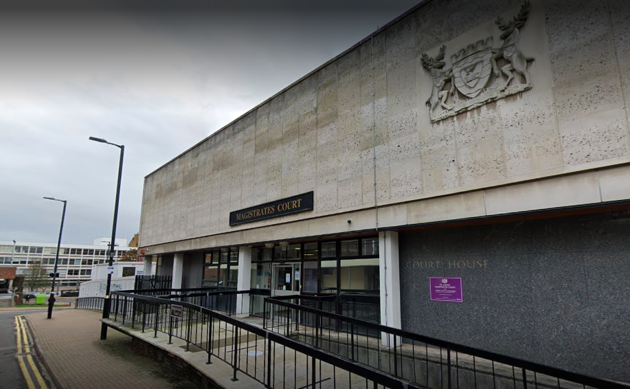 PC David Carrick appeared via video link at St Albans Magistrates' Court. (Google)
