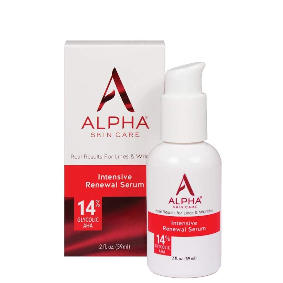 <p><span> Alpha Skin Care Intensive Renewal Serum</span> ($15, originally $22)</p>