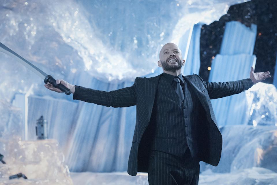 Lex Luthor (Jon Cryer) gets everything he wants in Supergirl. (Warner TV)