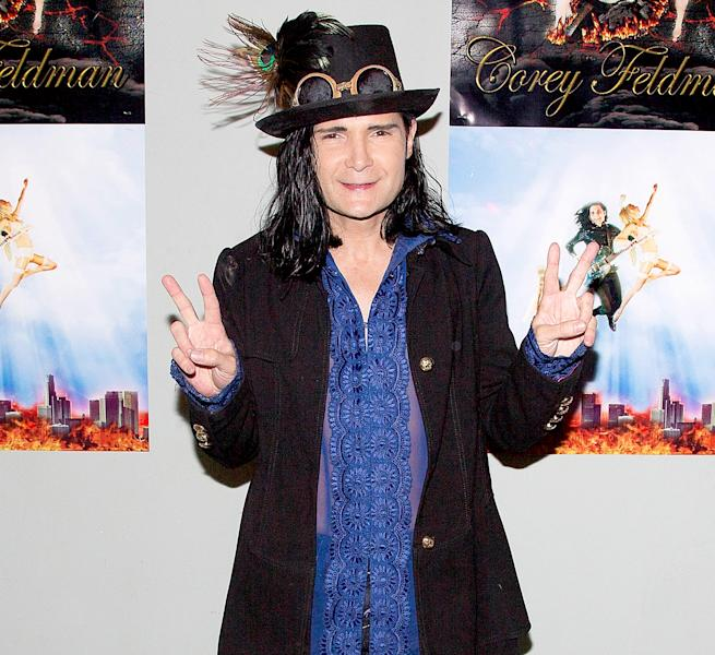 After fighting off internet bullies, Corey Feldman returned to the 'Today' show for another unique musical performance on Thursday, October, 13 — watch the video!