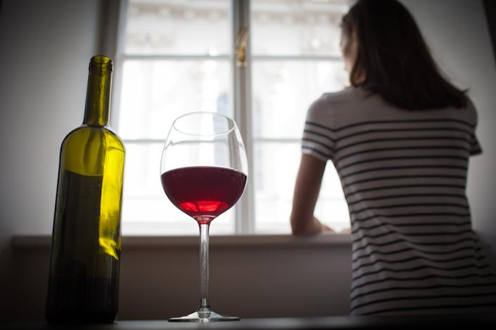 One study found that binge drinking had spiked since the pandemic began, particularly among women. (Photo: Getty Images)