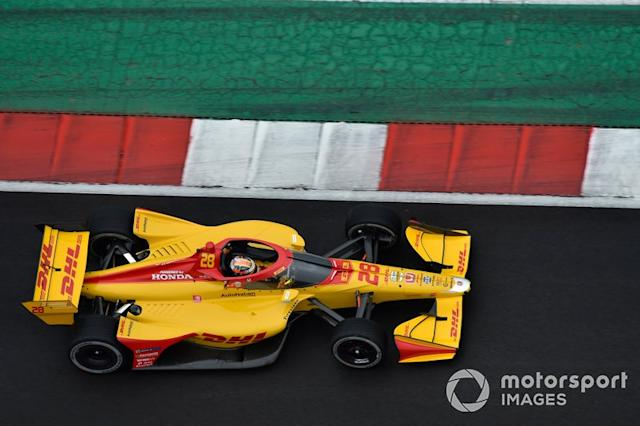 "Ryan Hunter-Reay, Andretti Autosport Honda <span class=""copyright"">Scott R LePage / Motorsport Images</span>"