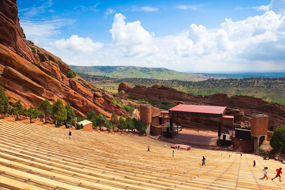 "<p><strong>Best thing to do in Colorado:</strong> Catch an outdoor concert</p> <p>The next time you find yourself in <a href=""https://www.cntraveler.com/destinations/denver?mbid=synd_yahoo_rss"" rel=""nofollow noopener"" target=""_blank"" data-ylk=""slk:Denver"" class=""link rapid-noclick-resp"">Denver</a>, namely during the warmer months, head 16 miles west to the almost 900-acre <a href=""https://www.cntraveler.com/activities/denver/red-rocks-amphitheatre?mbid=synd_yahoo_rss"" rel=""nofollow noopener"" target=""_blank"" data-ylk=""slk:Red Rocks Amphitheatre"" class=""link rapid-noclick-resp"">Red Rocks Amphitheatre</a>, which has miles of hiking trails, sandstone cliffs, and a geologically formed amphitheater that's hosted everyone from The Beatles to Stevie Nicks. While most concerts scheduled for 2020 have been canceled due to COVID-19, the venue is still hosting yoga sessions every weekend morning, and as of publication, Lynyrd Skynyrd's September show is still a go. (See the entire calendar <a href=""https://www.redrocksonline.com/events/?view=calendar"" rel=""nofollow noopener"" target=""_blank"" data-ylk=""slk:here"" class=""link rapid-noclick-resp"">here</a>.)</p>"