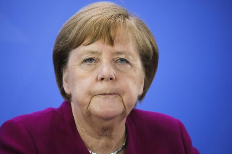 In a speech outlining Germany's priorities when it takes over the EU's rotating presidency in July 2020, Chancellor Angela Merkel said the economic and social upheaval from the pandemic has turned the world upside down