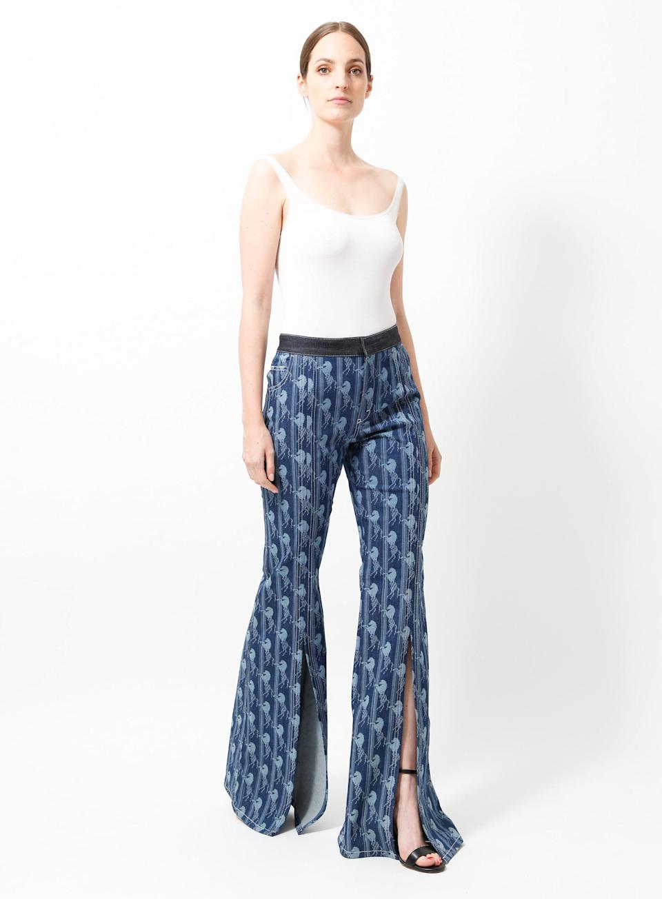 <p>Resee has earned its spot as one of our favorite vintage shops yet, and these super-special <span>Chloé Resort 2019 Horse Print Jeans</span> ($561) are among the well-curated pages.</p>