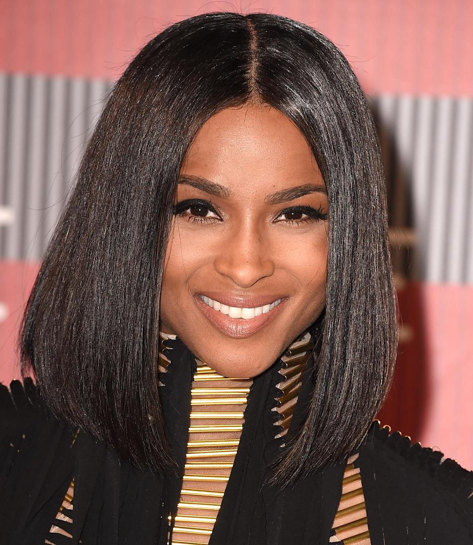 Not all of the show-stopping VMA looks have been outrageous. Ciara's hairstyle for the 2015 show, a straight, shoulder-length bob with a middle part, was simply irresistible.