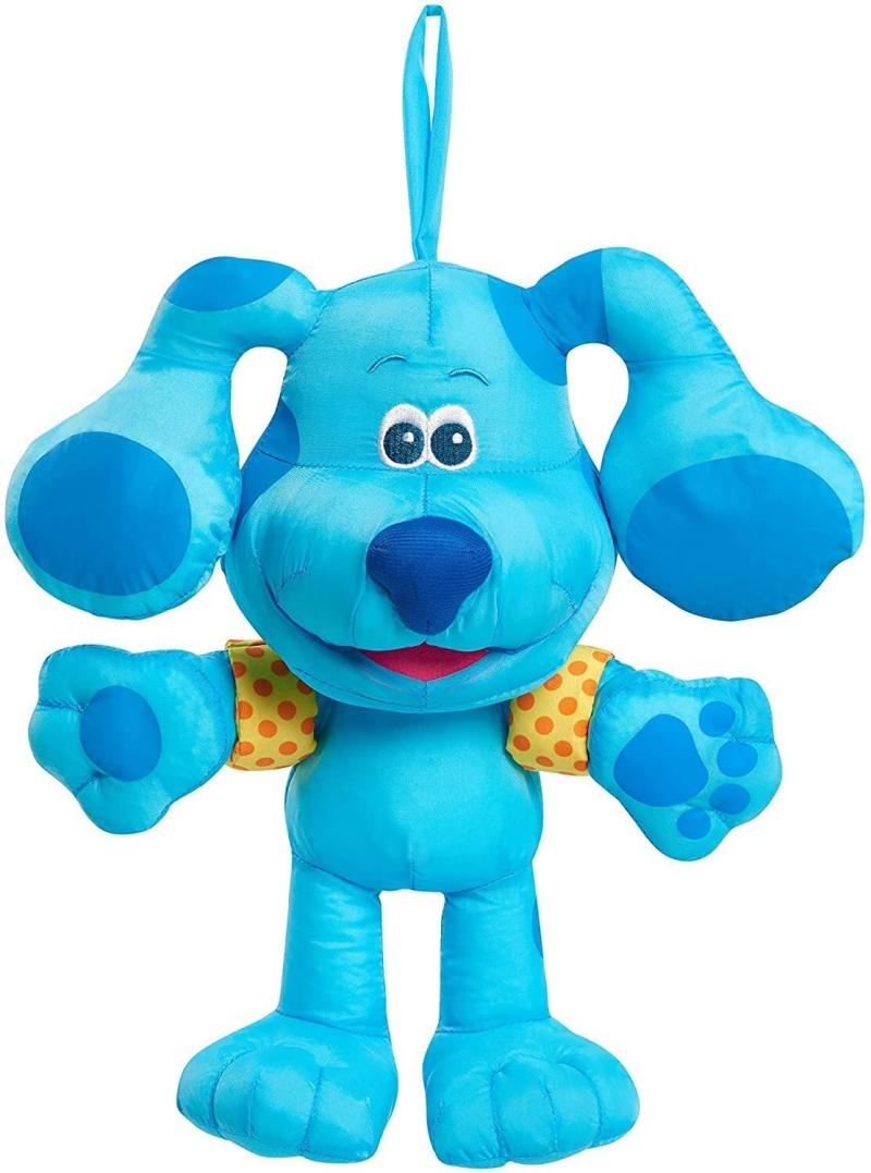 """To get through bath time, you might just snag <a href=""""https://amzn.to/33M2lpk"""" target=""""_blank"""" rel=""""noopener noreferrer"""">this plush</a> for little ones. The """"Blue's Clues"""" toy can be played with inside or outside of the tub, depending on what your kiddo wants. <a href=""""https://amzn.to/33M2lpk"""" target=""""_blank"""" rel=""""noopener noreferrer"""">Find it for $13 at Amazon</a>."""
