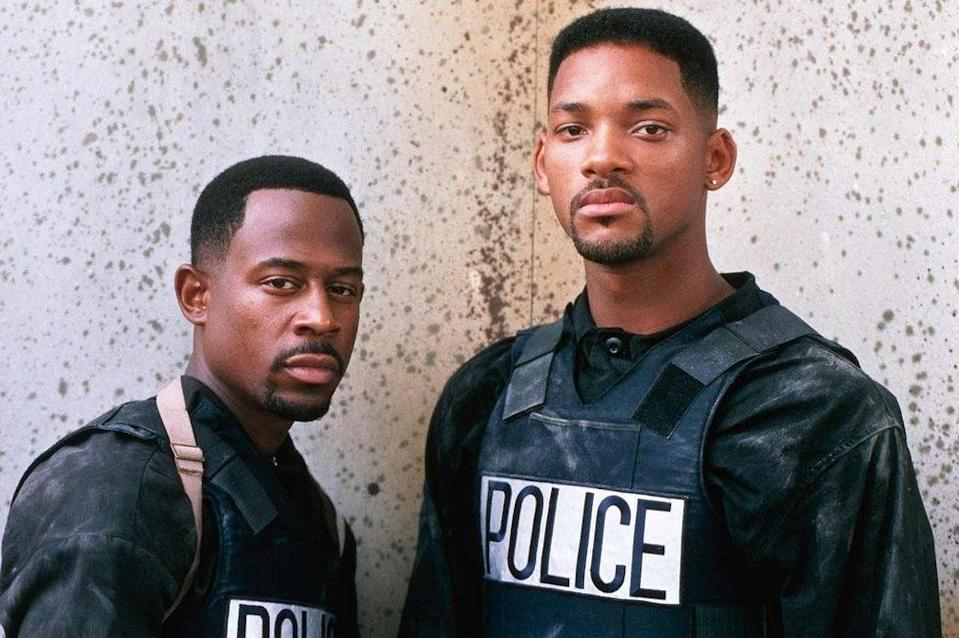 "<p><strong>Cast: </strong>Will Smith, Martin Lawrence, Téa Leoni</p><p>This blockbuster action comedy directed by Michael Bay follows Miami detectives Mike Lowry and Marcus Burnett, partners who are tasked with recovering millions of dollars of stollen drugs in order to save their narcotics team. This is the first of a successful three-film franchise.</p><p><a class=""link rapid-noclick-resp"" href=""https://www.amazon.com/Bad-Boys-Will-Smith/dp/B000I8JEY2?linkCode=ogi&tag=syn-yahoo-20&ascsubtag=%5Bartid%7C10072.g.34125298%5Bsrc%7Cyahoo-us"" rel=""nofollow noopener"" target=""_blank"" data-ylk=""slk:WATCH NOW"">WATCH NOW</a></p>"