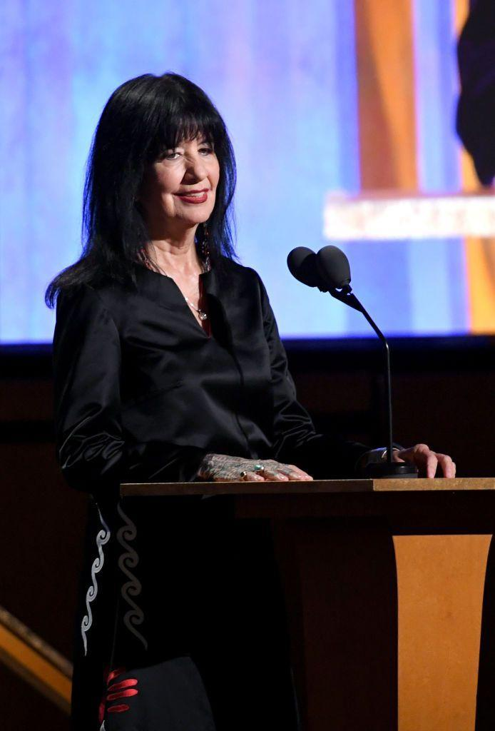 "<p><strong>Creek, Muscogee</strong></p><p>The first Native American poet laureate in U.S. history, Joy Harjo has won acclaim for collections like <em><a href=""https://www.amazon.com/Mad-Love-War-Wesleyan-Poetry/dp/081951182X?tag=syn-yahoo-20&ascsubtag=%5Bartid%7C10072.g.34316734%5Bsrc%7Cyahoo-us"" rel=""nofollow noopener"" target=""_blank"" data-ylk=""slk:In Mad Love and War"" class=""link rapid-noclick-resp"">In Mad Love and War </a></em>and <em><a href=""https://www.amazon.com/Secrets-Center-World-Sun-Tracks/dp/0816511136?tag=syn-yahoo-20&ascsubtag=%5Bartid%7C10072.g.34316734%5Bsrc%7Cyahoo-us"" rel=""nofollow noopener"" target=""_blank"" data-ylk=""slk:Secrets From the Center of the World"" class=""link rapid-noclick-resp"">Secrets From the Center of the World</a>. </em>Harjo has a diverse background, and she's been an <a href=""https://www.smithsonianmag.com/arts-culture/joy-harjos-new-poetry-collection-brings-native-issues-forefront-180972889/"" rel=""nofollow noopener"" target=""_blank"" data-ylk=""slk:enrolled member"" class=""link rapid-noclick-resp"">enrolled member</a> of the Muscogee tribe since age 19. She's been writing since 1973, and her work confronts and dismantles long-held stereotypes around Indigenous people.</p><p>""A lot of images [of Native Americans] are based on fairy tales or Wild West shows. We are human beings, not just people who have been created for people's fantasy worlds. There's not just one Native American,"" she told <em><a href=""https://time.com/5658443/joy-harjo-poet-interview/"" rel=""nofollow noopener"" target=""_blank"" data-ylk=""slk:Time"" class=""link rapid-noclick-resp"">Time</a></em>. ""We're diverse by community, by land, by language, by culture.""</p>"