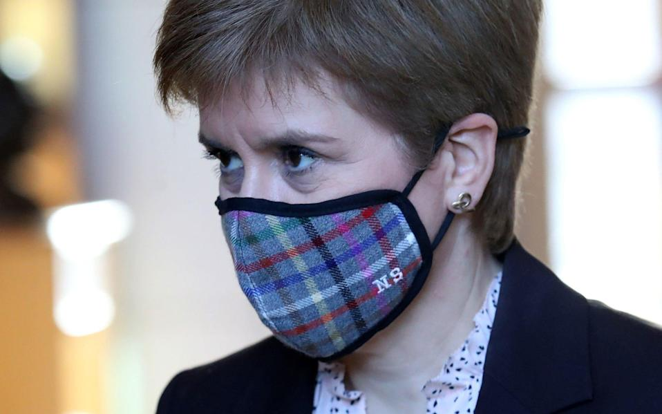 The First Minister set out her plan on Friday - Andrew Milligan/PA